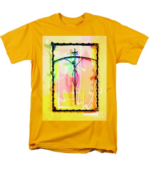 Men's T-Shirt  (Regular Fit) featuring the photograph Easter Remembrance by Al Bourassa