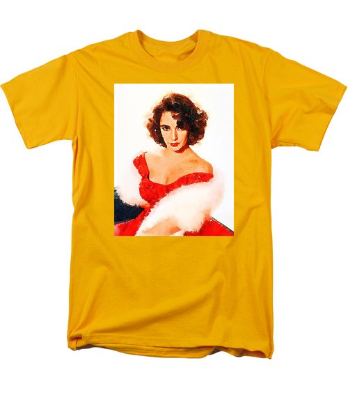 Elizabeth Taylor Men's T-Shirt  (Regular Fit) by John Springfield