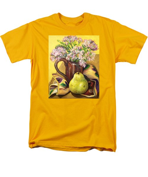 Men's T-Shirt  (Regular Fit) featuring the painting Fall Still Life by Laura Aceto