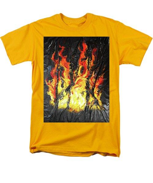 Fire Too Men's T-Shirt  (Regular Fit)