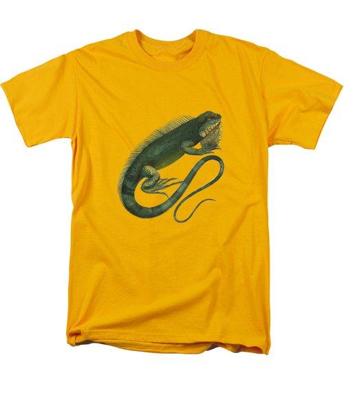Iguana Men's T-Shirt  (Regular Fit) by Sergey Lukashin