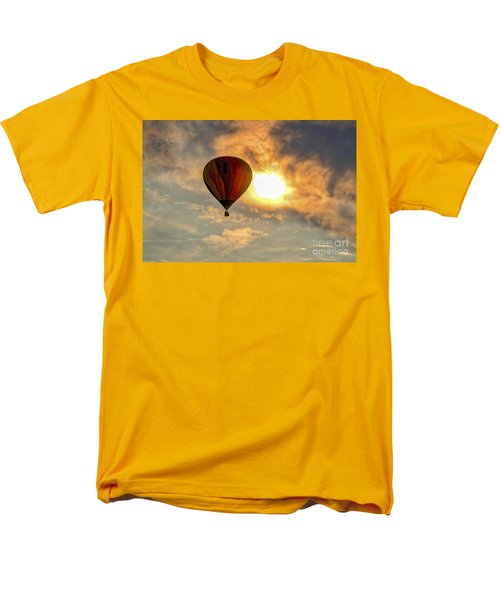 Men's T-Shirt  (Regular Fit) featuring the photograph Sunrise Flight by Mitch Shindelbower