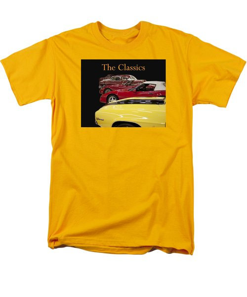 Men's T-Shirt  (Regular Fit) featuring the photograph The Classics by B Wayne Mullins