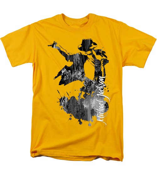 Michael Jackson Collection Men's T-Shirt  (Regular Fit)