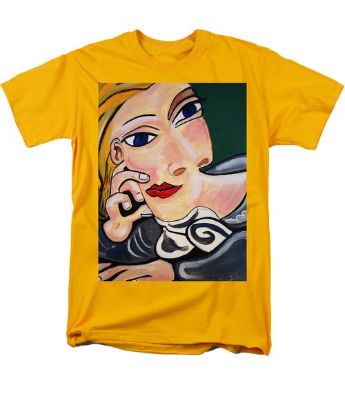 Picasso By Nora Men's T-Shirt  (Regular Fit) by Nora Shepley
