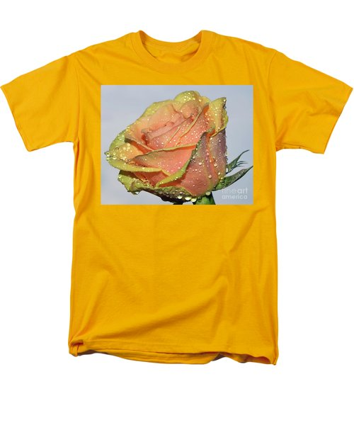 Men's T-Shirt  (Regular Fit) featuring the photograph Rose by Elvira Ladocki