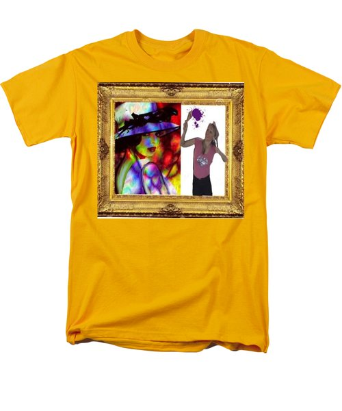Men's T-Shirt  (Regular Fit) featuring the digital art Cover Art For Gallery by Diana Riukas