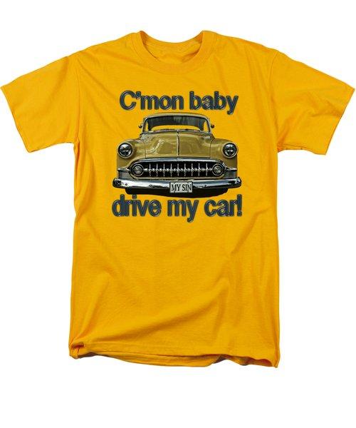 Men's T-Shirt  (Regular Fit) featuring the digital art 1953 Chevy by Richard Farrington