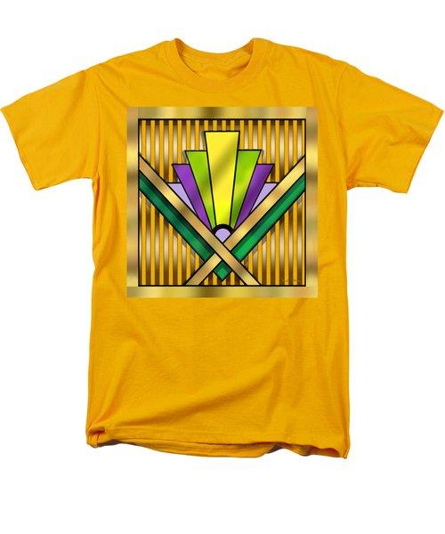 Art Deco 14 Transparent Men's T-Shirt  (Regular Fit) by Chuck Staley