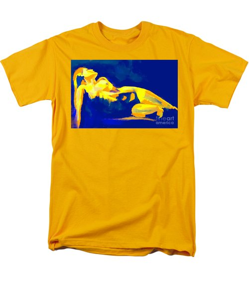 Evening Nude Men's T-Shirt  (Regular Fit) by Helena Wierzbicki