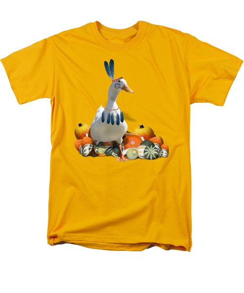 Indian Duck Men's T-Shirt  (Regular Fit)