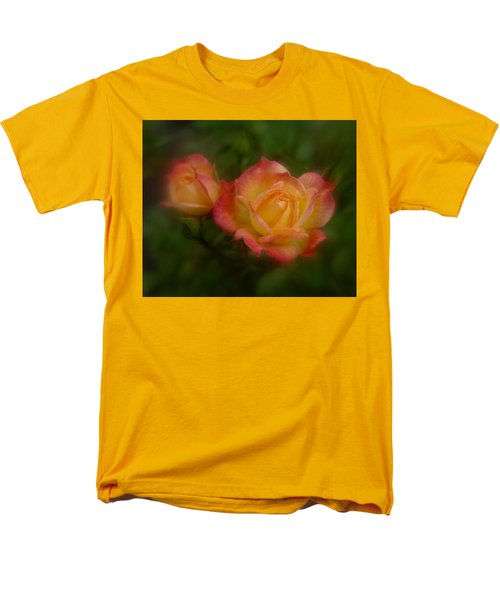Men's T-Shirt  (Regular Fit) featuring the photograph 2 Roses by Richard Cummings
