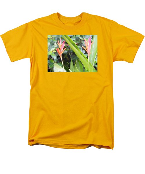 Men's T-Shirt  (Regular Fit) featuring the photograph Tropical Flowers by Kay Gilley