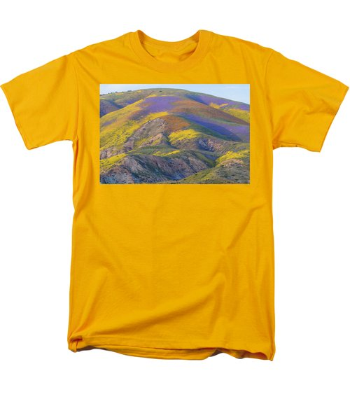 2017 Carrizo Plain Super Bloom Men's T-Shirt  (Regular Fit) by Marc Crumpler