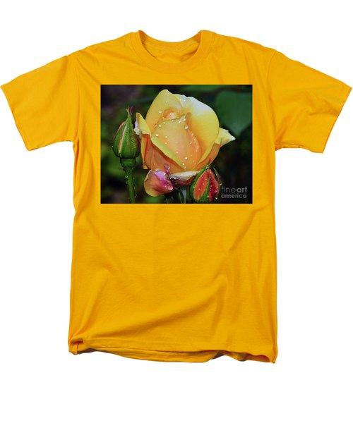 Men's T-Shirt  (Regular Fit) featuring the photograph Nice Rose by Elvira Ladocki