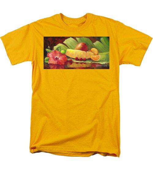 4 Cherries Men's T-Shirt  (Regular Fit) by Laurie Hein