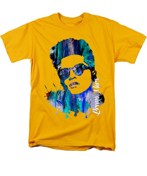 Bruno Mars Collection Men's T-Shirt  (Regular Fit) by Marvin Blaine