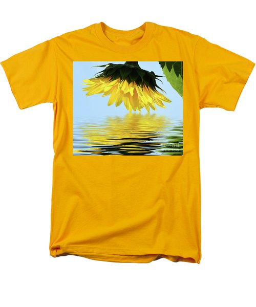 Nice Sunflower Men's T-Shirt  (Regular Fit) by Elvira Ladocki