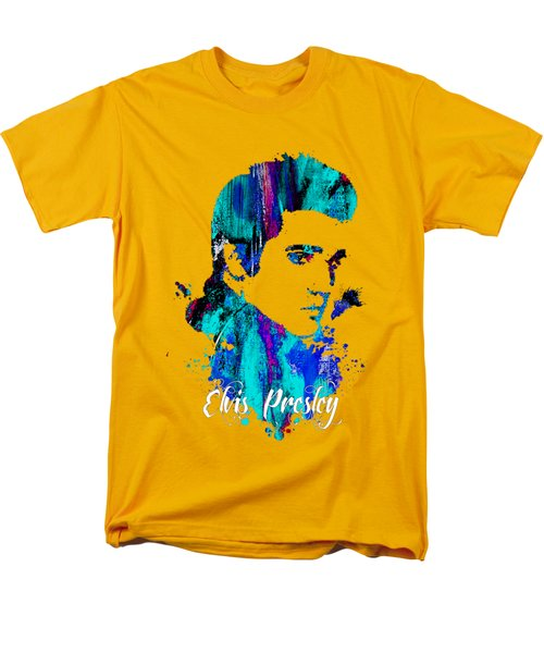 Elvis Presley Collection Men's T-Shirt  (Regular Fit) by Marvin Blaine