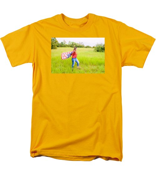 Men's T-Shirt  (Regular Fit) featuring the photograph 5640 by Teresa Blanton