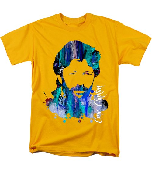 Eric Clapton Collection Men's T-Shirt  (Regular Fit) by Marvin Blaine