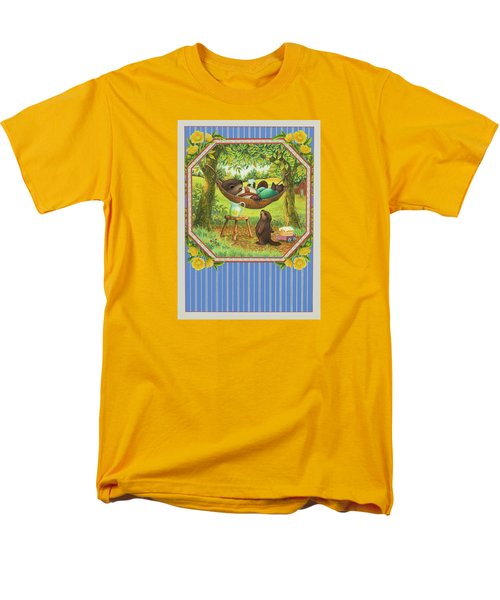 A Father's Day Treat Men's T-Shirt  (Regular Fit) by Lynn Bywaters