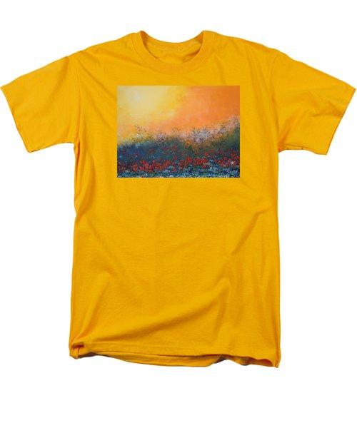 A Field In Bloom Men's T-Shirt  (Regular Fit) by Dan Whittemore