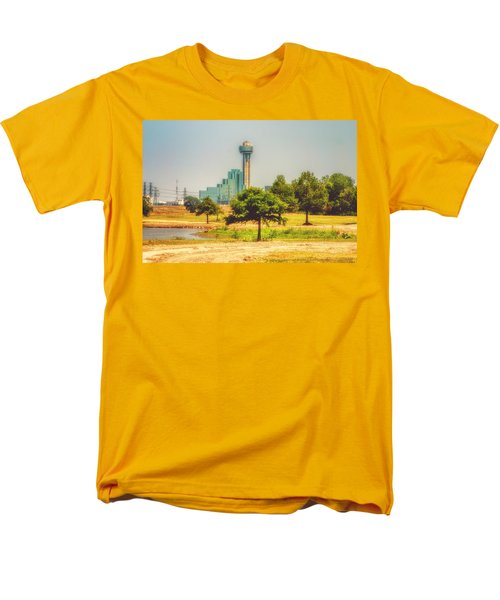 Men's T-Shirt  (Regular Fit) featuring the photograph A Quiet View by Joan Bertucci