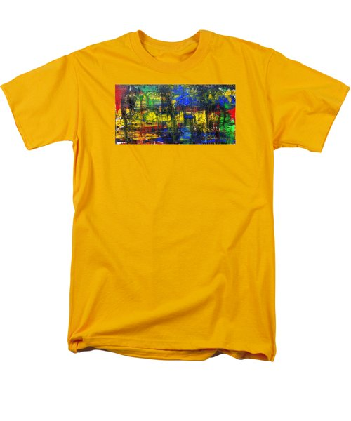 Abstract # 2  Men's T-Shirt  (Regular Fit) by Rich Franco