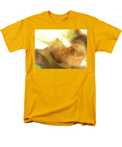 Abstract Acrylic Painting Fantasy Men's T-Shirt  (Regular Fit) by Saribelle Rodriguez