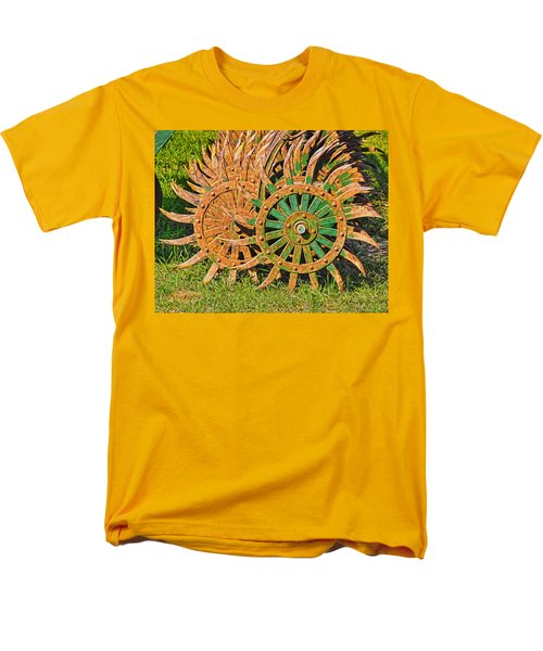 Men's T-Shirt  (Regular Fit) featuring the photograph Ag Machinery Starburst by Trey Foerster