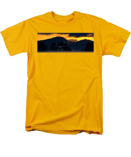 Men's T-Shirt  (Regular Fit) featuring the photograph An Early Departure by Mark Alan Perry