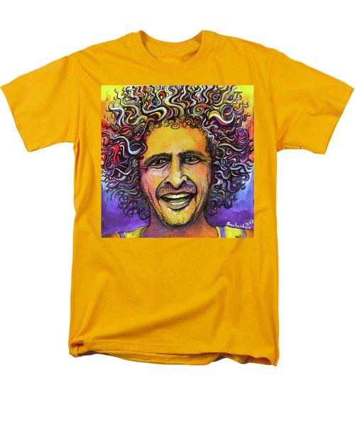 Andy Frasco Men's T-Shirt  (Regular Fit) by David Sockrider