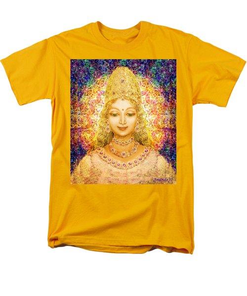 Angel Of Beauty In Blue Men's T-Shirt  (Regular Fit) by Ananda Vdovic