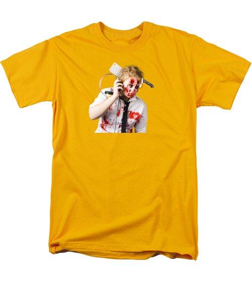 Anthem Of The Zombie Apocalypse Men's T-Shirt  (Regular Fit)