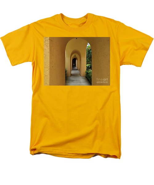 Men's T-Shirt  (Regular Fit) featuring the photograph Archway by Gary Wonning