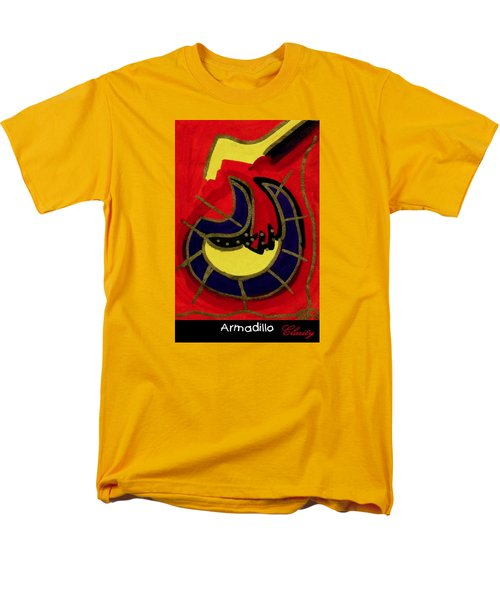 Men's T-Shirt  (Regular Fit) featuring the painting Armadillo by Clarity Artists