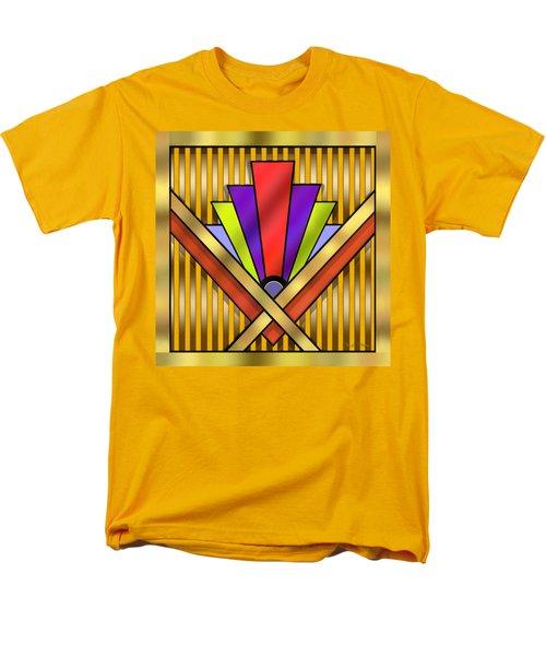 Art Deco 16 Transparent Men's T-Shirt  (Regular Fit) by Chuck Staley