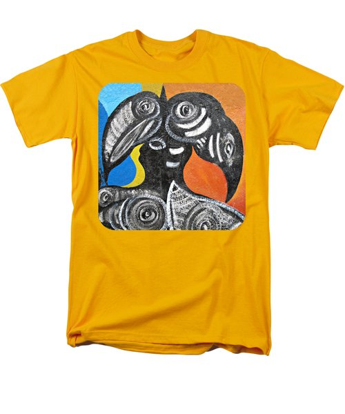 Two Toucans Men's T-Shirt  (Regular Fit) by Ethna Gillespie