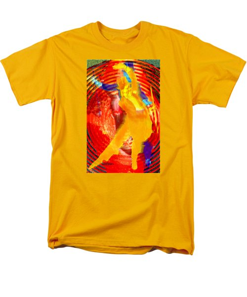 Astaire Way To Heaven Men's T-Shirt  (Regular Fit) by Seth Weaver