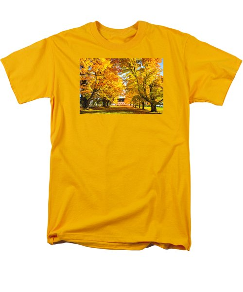 Men's T-Shirt  (Regular Fit) featuring the photograph Autumn Gold IIi by Robert Clifford