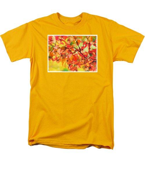 Autumn Leaves Men's T-Shirt  (Regular Fit) by Christina Lihani