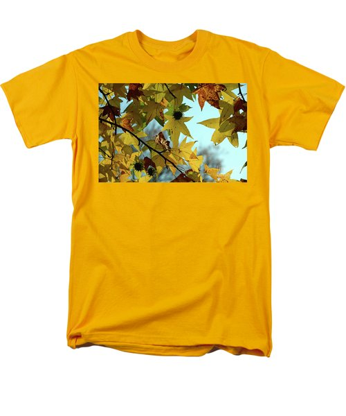 Autumn Leaves Men's T-Shirt  (Regular Fit) by Joanne Coyle