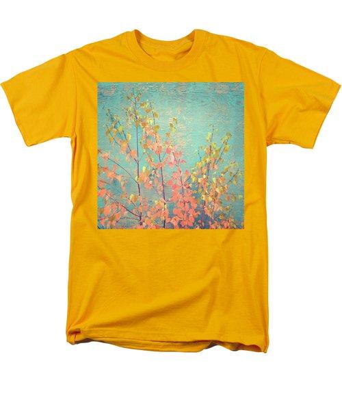 Men's T-Shirt  (Regular Fit) featuring the photograph Autumn Wall by Ari Salmela