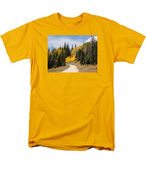 Men's T-Shirt  (Regular Fit) featuring the photograph Autumnal Forest-dixie National Forest Utah by Deborah Moen