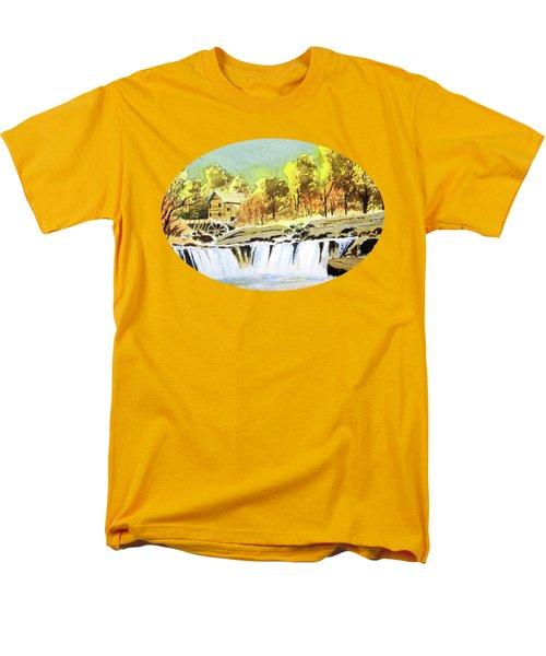 Babcock State Park West Virginia Men's T-Shirt  (Regular Fit) by Bill Holkham