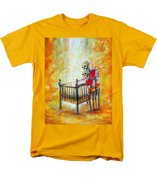 Men's T-Shirt  (Regular Fit) featuring the painting Baby Love by Heather Calderon