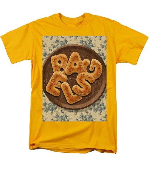 Bagels Men's T-Shirt  (Regular Fit) by La Reve Design