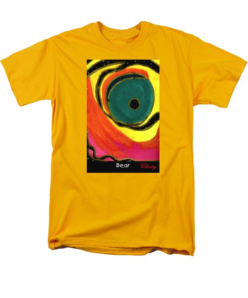 Men's T-Shirt  (Regular Fit) featuring the painting Bear by Clarity Artists