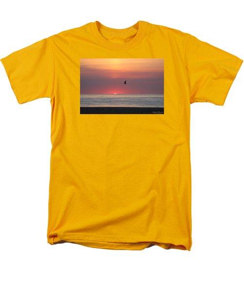 Men's T-Shirt  (Regular Fit) featuring the photograph Beginning The Day by Robert Banach